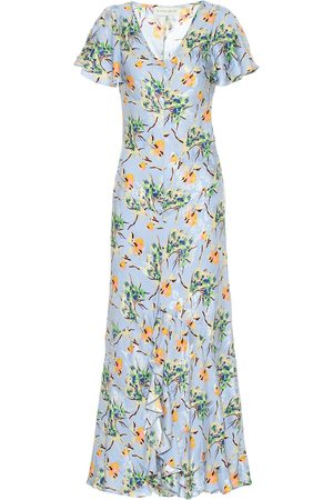 Etro Floral silk-blend maxi dress