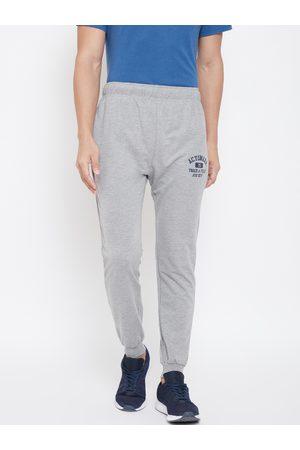 ACTIMAXX Men Grey Melange Solid Slim fit Joggers