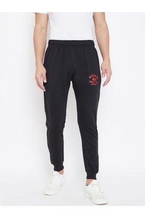 ACTIMAXX Men Black Solid Slim fit Joggers