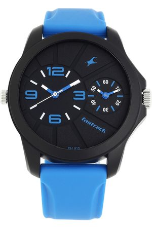 Fastrack Men Black Analogue Watch 38042PP04