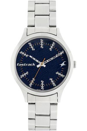 Fastrack Women Blue Analogue Watch 6180SM02