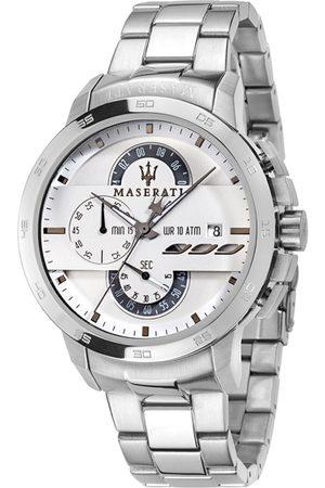 Maserati Men White Analogue Watch R8873619004