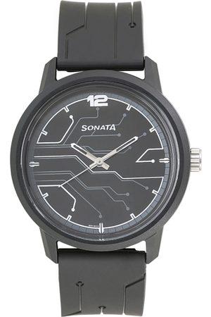 Sonata Volt Men Charcoal Analogue watch 77085PP01