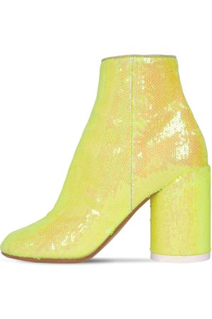 MM6 MAISON MARGIELA 90mm Sequined Ankle Boots
