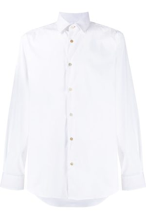 Paul Smith Men Long sleeves - Long-sleeve fitted shirt