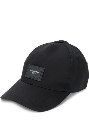 Dolce & Gabbana Men Hats - Logo patch baseball cap