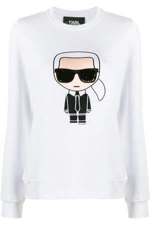Karl Lagerfeld Karl motif long-sleeve top