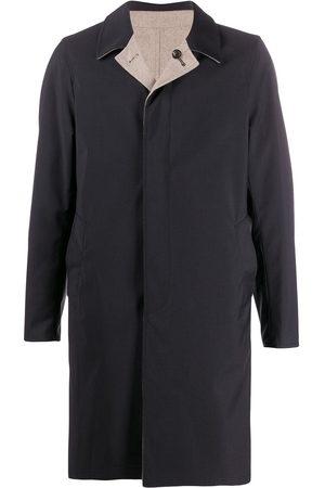 DELL'OGLIO Single-breasted reversible coat