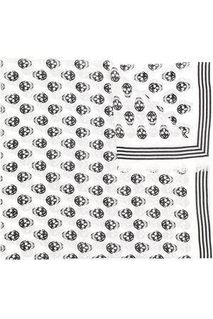 Alexander McQueen Men Scarves - Skull-print scarf