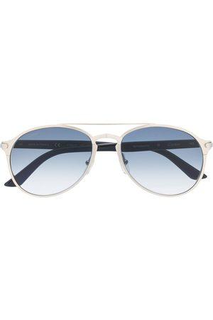 CARTIER EYEWEAR Men Aviator Sunglasses - Decor aviator frame sunglasses