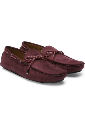 Carlton London Men Maroon Boat Shoes