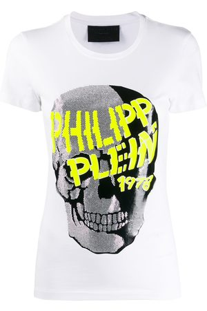 Philipp Plein Skull embellished short sleeve T-shirt