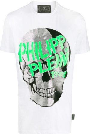 Philipp Plein Embellished skull T-shirt