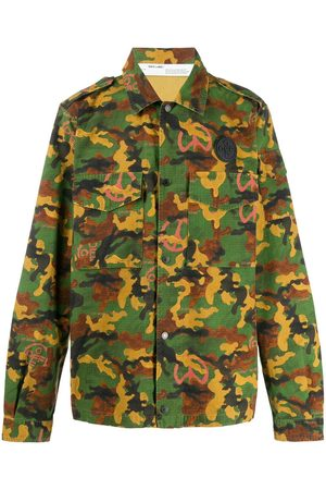 OFF-WHITE Camouflage print shirt