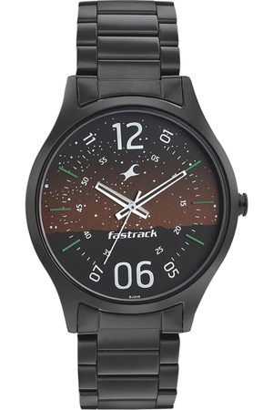 Fastrack Space-I Men Brown Analogue watch 3184NM01