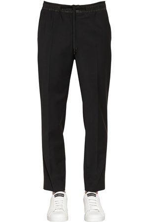 Dolce & Gabbana Stretch Wool Blend Pants