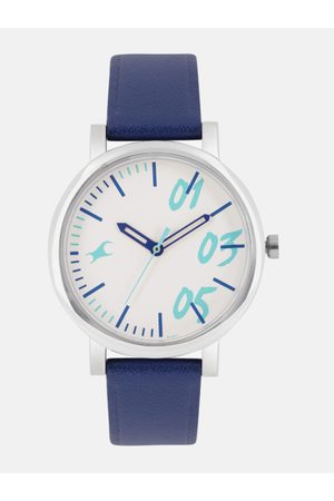 Fastrack Women White Solid Analogue Watch 68010SL05