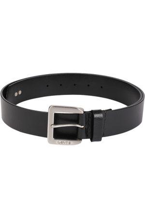Levi's Men Black Solid Leather Belt