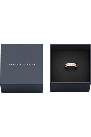 Daniel Wellington Unisex Rose Gold-Plated Engraved Ring
