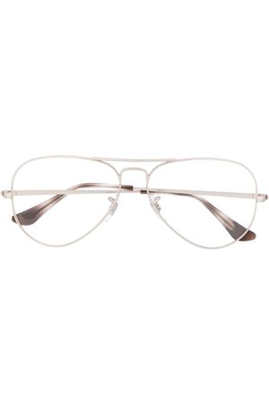 Ray-Ban Oversized round frame glasses