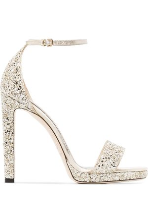Jimmy choo Tone Misty 85 leather sandals