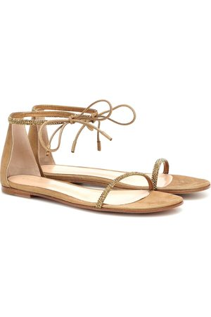 Gianvito Rossi Embellished sandals