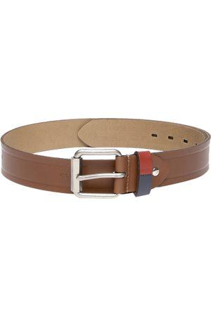 Ralph Lauren Men Tan Brown Solid Leather Belt