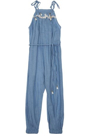 ZIMMERMANN Kirra Cotton Chambray Jumpsuit