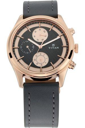 Titan Workwear Men Grey Analogue watch NL1805WL01