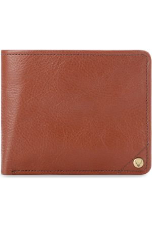 Hidesign Men Brown Solid Leather Two Fold Wallet