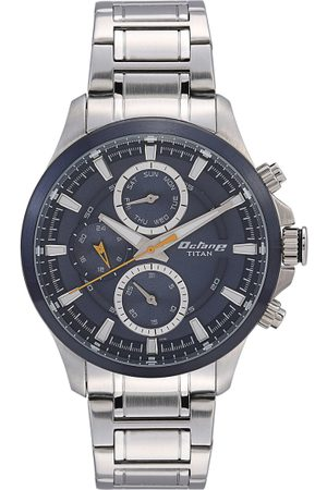 Titan Octane Men Blue Analogue watch 90104KM01