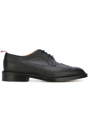 Thom Browne Men Brogues - Classic Longwing Brogue with Leather Sole