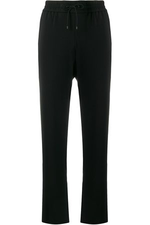 Kenzo Women Trousers - Side floral-print track trousers