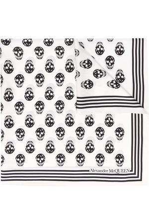 Alexander McQueen Biker Skull print scarf