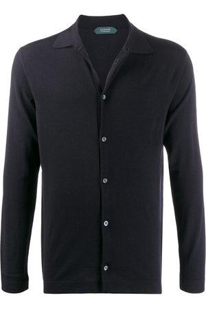 ZANONE Flexwool knitted shirt