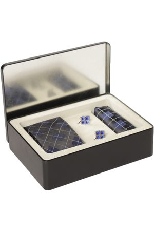 Lino Perros Men Navy Accessory Gift Set