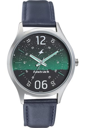 Fastrack Space-I Men Green Analogue watch 3184SL04