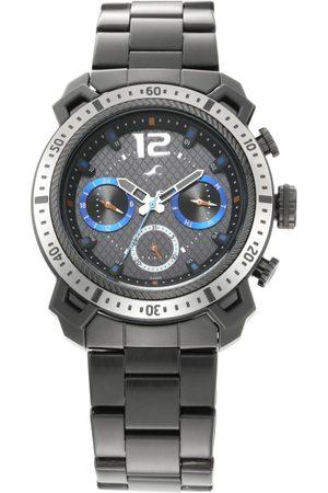 Fastrack Men Charcoal Grey Analogue Watch 3193KM02