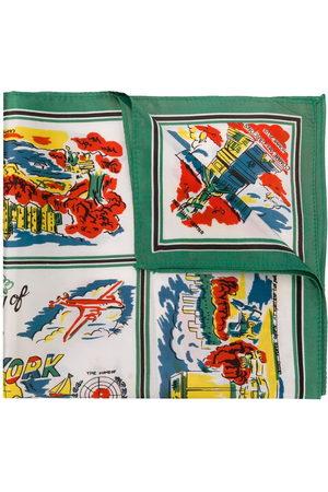 Comme des Garçons NYC print handkerchief
