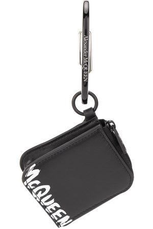 Alexander McQueen Logo zip pouch keyring