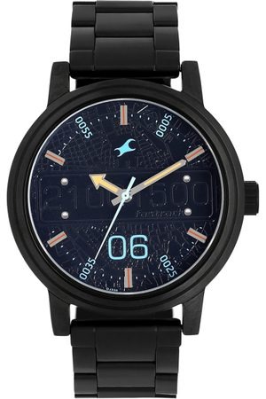 Fastrack Men Navy Blue Analogue Watch 3199NM01