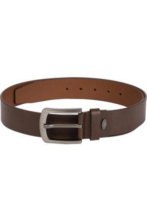 Boxer Men Brown Solid Spanish Genuine Leather Belt BB4-02 B32
