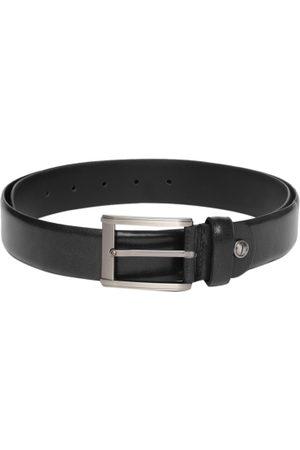 Boxer Men Black Solid Italian Genuine Leather Belt BB3-05 B36