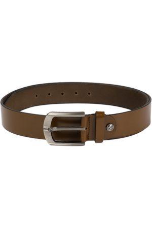 Boxer Men Brown Solid Spanish Genuine Leather Belt BB1-02 B32