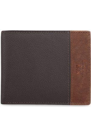 Aditi Wasan Men Wallets - Men Brown Solid Two Fold Wallet