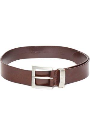 Levi's Men Belts - Men Coffee Brown Solid Leather Belt