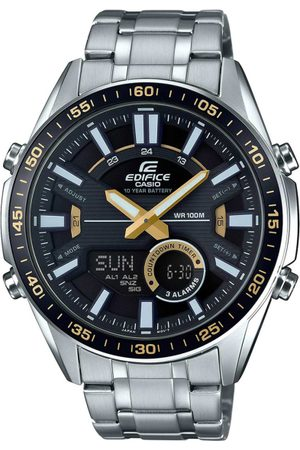 Casio Edifice Men Black Analogue and Digital watch EX439 EFV-C100D-1BVDF