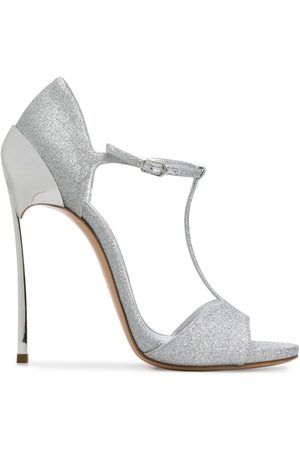 Casadei Glitter stiletto sandals