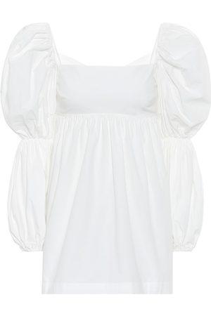REJINA PYO Kayla cotton-poplin top