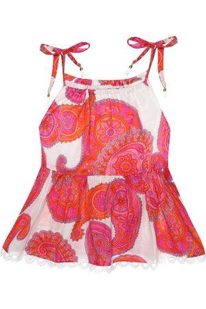 ZIMMERMANN Peggy paisley-print cotton top